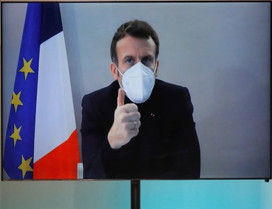 Macron to consult COVID advisors, says official, as infections spread