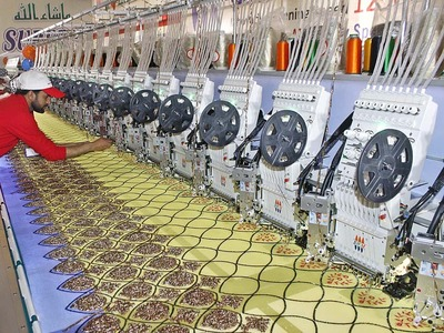 Feb textile group exports down 6.75pc MoM