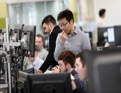 British stocks subdued
