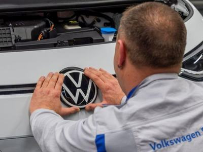 Volkswagen now Germany's most valuable blue-chip