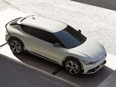 Kia releases clear images of its first electric car 'EV6'