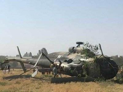 Helicopter crash kills nine in central Afghanistan