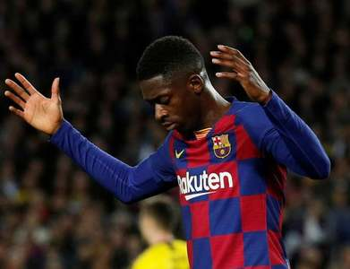 Barca's Dembele back in France squad for World Cup qualifiers