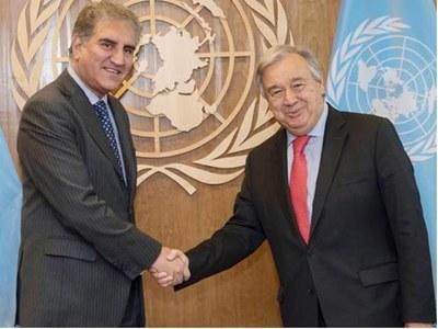 UNSG calls Pakistan a 'fundamental partner' of United Nations