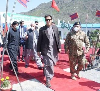 PM inaugurates three tunnels along 80-kilometre long Swat Expressway