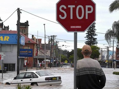 Record rains, flooding prompt evacuations in Australia