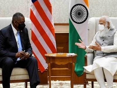 China dominates Pentagon chief's first India visit