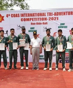 Pakistan Army wins 'Best International Team' title at adventure competition in Nepal