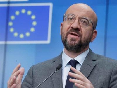 In Putin call, EU chief blames Russia for tensions
