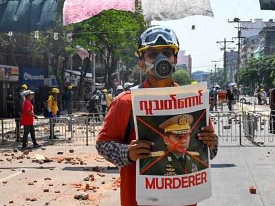 EU sanctions Myanmar junta chief over coup