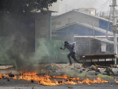 Myanmar junta defends crackdown, vows to stop 'anarchy'