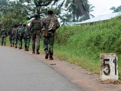 33 killed in DR Congo crackdown on rebels