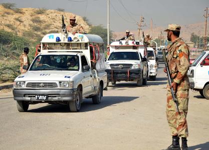 Rangers personnel injured in Khairpur cracker attack
