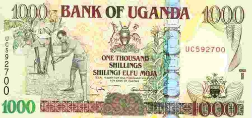 Ugandan shilling flat, commodity inflows offer support