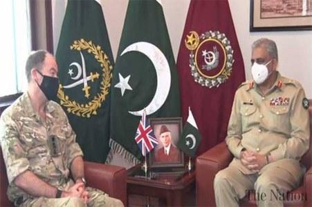 UK Army CDS Gen Nicholas meets COAS Bajwa, discuss regional security