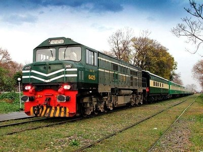 Karachi DS inspects track