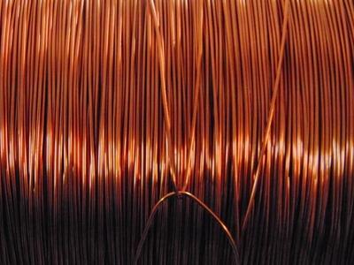 Copper prices down in choppy trade