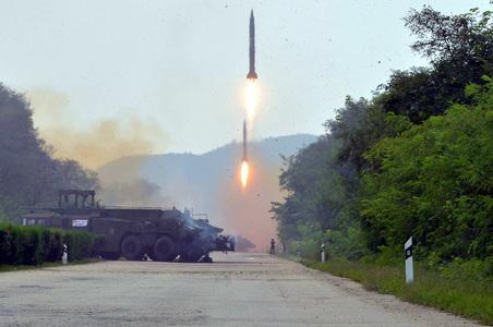 North Korea fires 'projectile' into sea: South