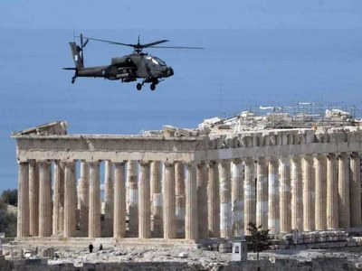 Greece celebrates revolution bicentennial with pomp and allies