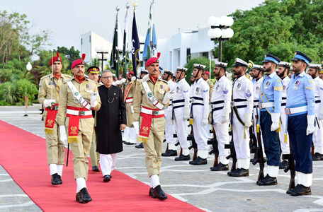 Pakistan Day parade: Alvi says country has achieved self-reliance in defence