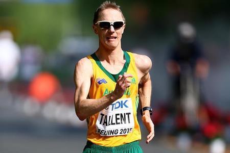 Aussie race walk champ Tallent strides into retirement