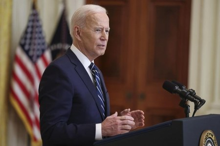 'I plan to run for re-election, that's my expectation', says President Biden at his first solo news conference since taking office