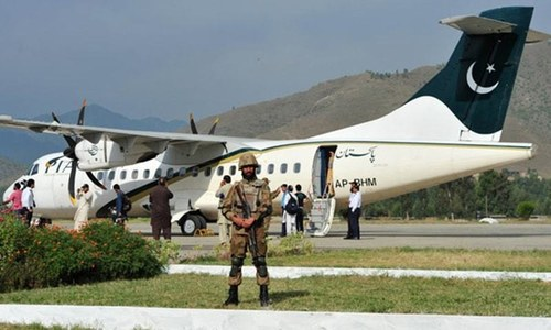 After 17 years, first PIA flight lands at Saidu Sharif Airport
