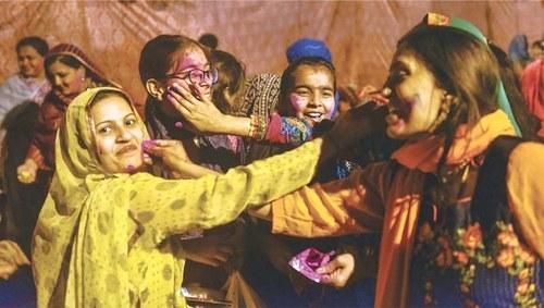 PM Khan wishes Hindu community 'a very happy' Holi