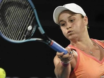 Barty, Tsitsipas, Rublev advance in Miami as Halep withdraws