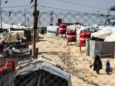 Syria Kurds launch security sweep, arrests in camp for IS families