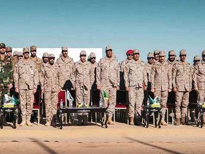 Saudi-led coalition destroys Houthi rigged boats, drones