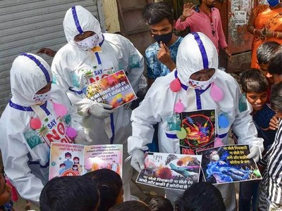 India dampens down festival fever as pandemic cases pass 12 million
