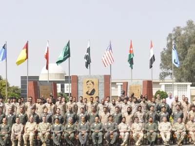 50 officials from Egypt, Jordan, Bahrain observe air force drill in Pakistan