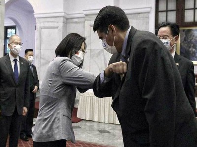 US sends ambassador to join Palau leader on Taiwan visit