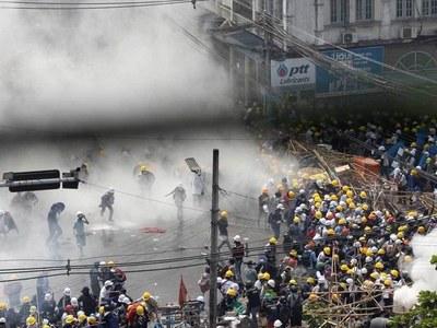 Myanmar crackdown death toll passes 520
