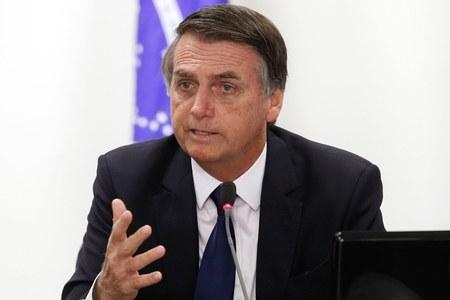 Brazil's Bolsonaro names three new military chiefs