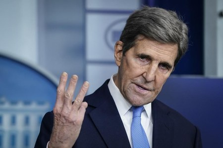 U.S. envoy Kerry heads to India to try and lift 'climate ambition'