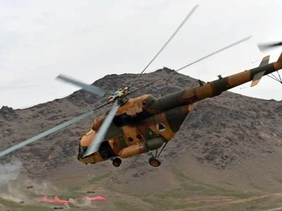 Three killed in Afghan army helicopter crash, say officials