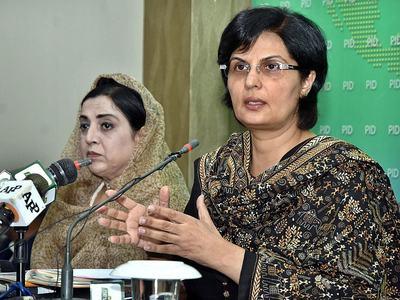 Sania Nishtar represents Pakistan in World Bank's annual meeting