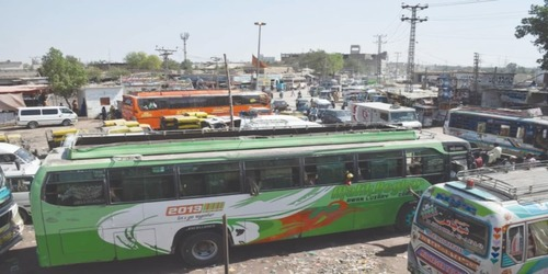 Sindh imposes COVID restrictions, intercity public transport to ply at half capacity