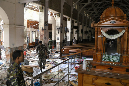 Sri Lanka steps up security for Easter services