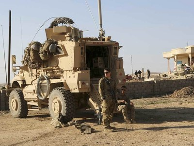 Two rockets hit near Iraq airbase hosting US soldiers