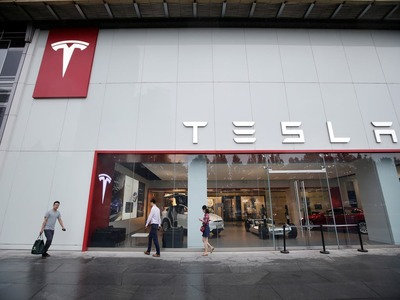 Tesla's market value set to gain $50bn on record first-qtr deliveries
