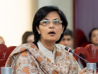 WB-IMF spring meetings 2021: Dr Nishtar advocates 'invisible scaffold'