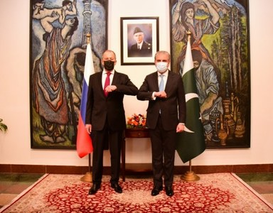 Russia offers military support to strengthen Pakistan's anti terrorist potential