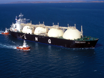 Four more LNG tankers heading to Britain this month