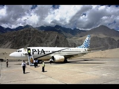 Promoting tourism: PIA commences direct flights from Lahore to northern areas