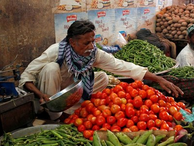 Vegetable exports decrease 7pc in 8 months