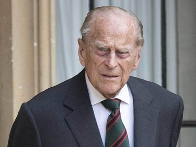 Harry but no Meghan at pared-back funeral for Prince Philip