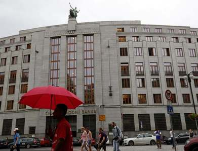 Czech central bank's euro holdings in reserves up to 58.8% in 2020